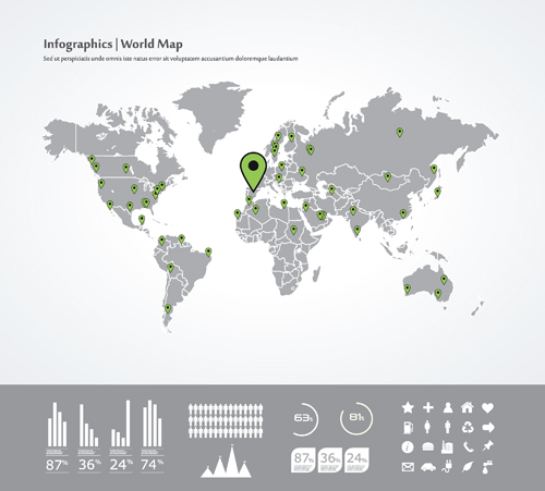World map with navigation vector 01 vector maps free download world map with navigation vector 01 gumiabroncs Choice Image