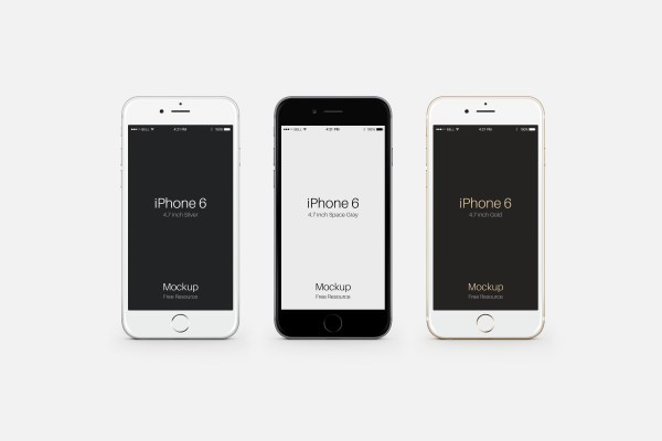 iphone 6 mobile template psd - psd templates free download, Presentation templates