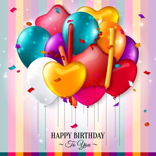 Birthday Card With Balloons Katinabags – Birthday Cards Balloons
