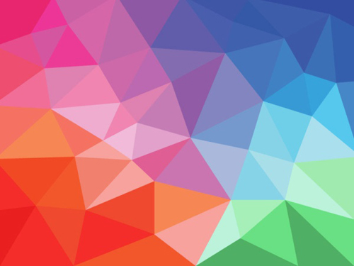 colorful shapes background created - photo #16