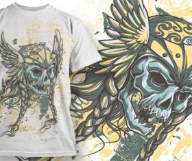 Fashion T-shirt design elements set vector 05