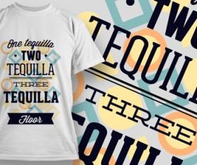 Fashion T-shirt design elements set vector 13
