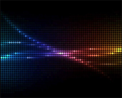 Dark neon colored background vector graphics