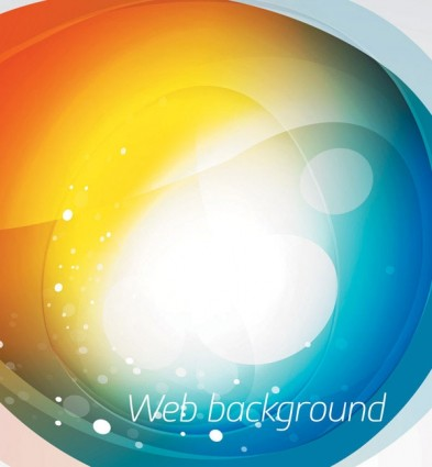 Brilliant web colorful background vector set 01