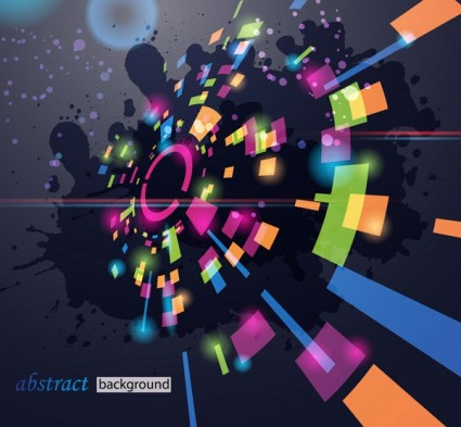 Music party abstract background Illustration vector free
