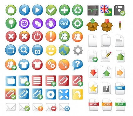 Web icons vector free vector download (28,741 free vector) for.