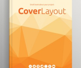 Brochure and book cover creative vector 02