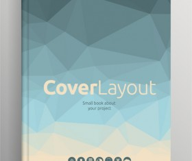 Brochure and book cover creative vector 04