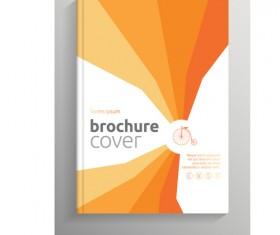 Brochure and book cover creative vector 05