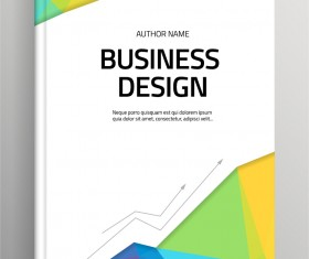 Brochure and book cover creative vector 06