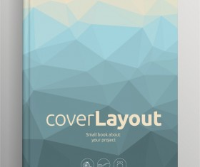 Brochure and book cover creative vector 10