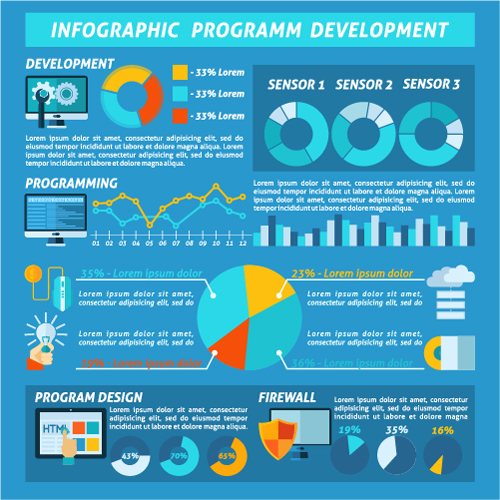 Infographic creation program