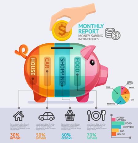 Business Infographic creative design 3352