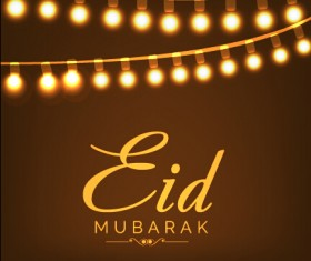 Eid mubarak celebrations vector background 01