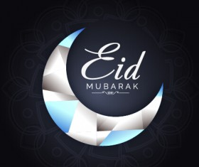 Eid mubarak celebrations vector background 04