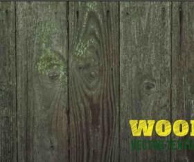 Old wooden texture art background vector set 01