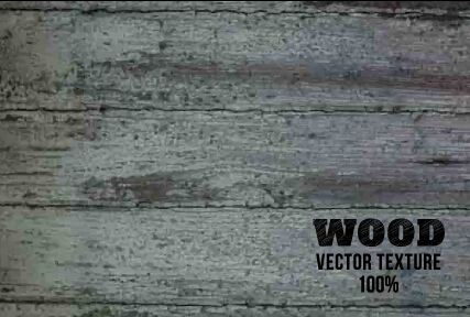 Old wooden texture art background vector set 02
