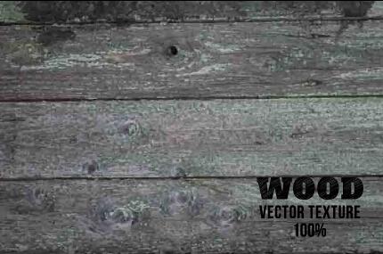 Old wooden texture art background vector set 04