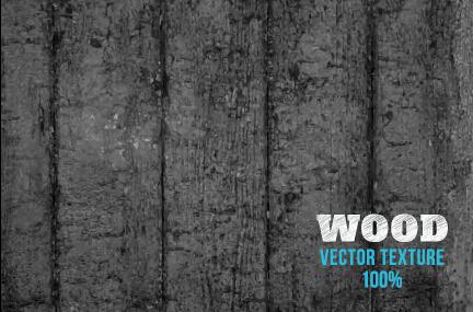 Old wooden texture art background vector set 05
