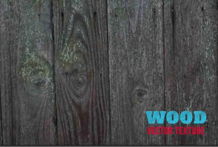 Old wooden texture art background vector set 08
