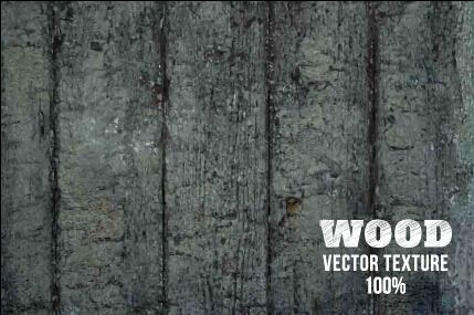 Old wooden texture art background vector set 11