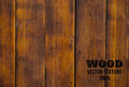 Old wooden texture art background vector set 13