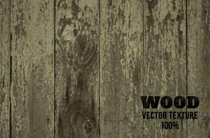Old wooden texture art background vector set 20