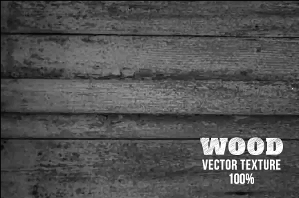 Old wooden texture art background vector set 22