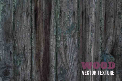 Old wooden texture art background vector set 25