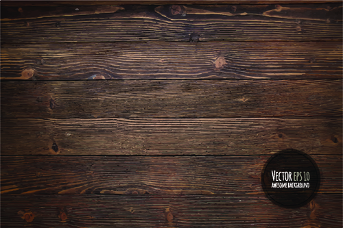 Old wooden textures backgrounds vector set 01