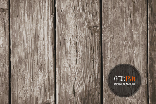 Old wooden textures backgrounds vector set 02