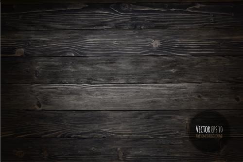 Old wooden textures backgrounds vector set 04