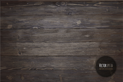 Old wooden textures backgrounds vector set 06