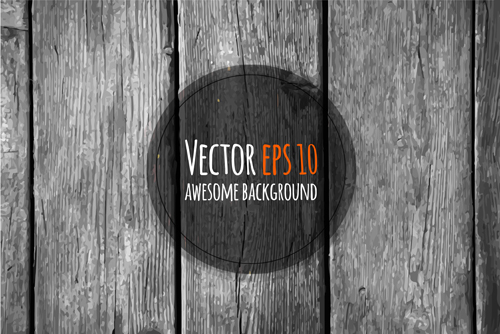 Old wooden textures backgrounds vector set 09