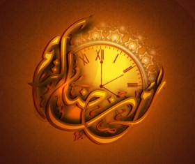 Ramadan kareem Eid vector background 01