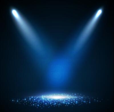 Shining spotlight design vector background 01 free download for Spotlight design