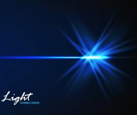 Tech light effects vector design 02