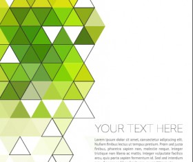Triangle modern background material 02