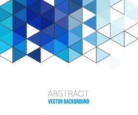 Triangle modern background material 03