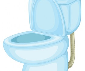 Vector toilet design elements set 03