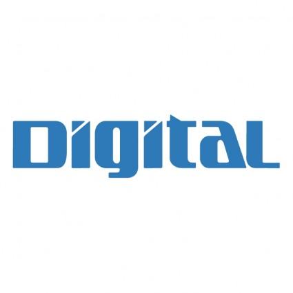 Digital creative vector logo 02