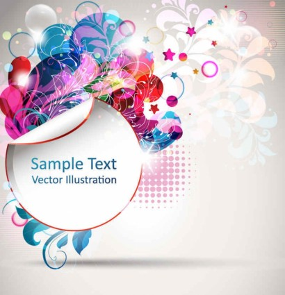 Trend creative posters background vector 02