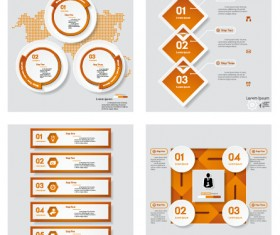 Business Infographic creative design 3377