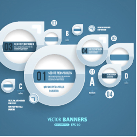 Business Infographic creative design 3440