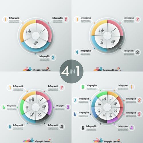 Business Infographic creative design 3455