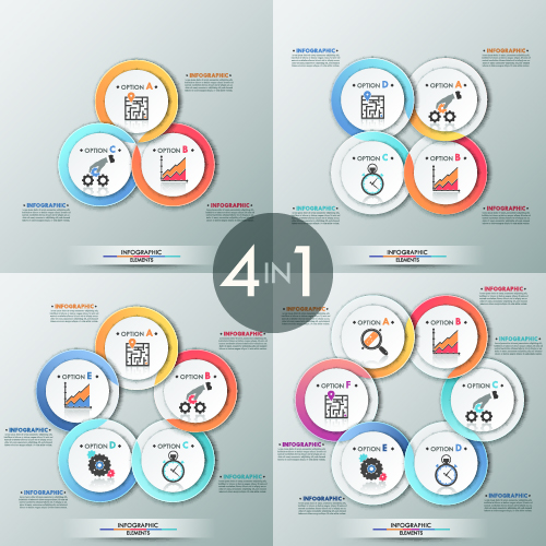 Business Infographic creative design 3457