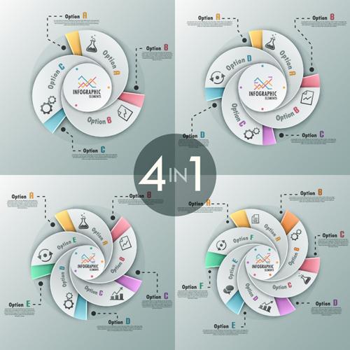Business Infographic creative design 3459