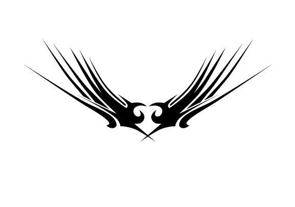 Creative tattoo ornament material vector 02