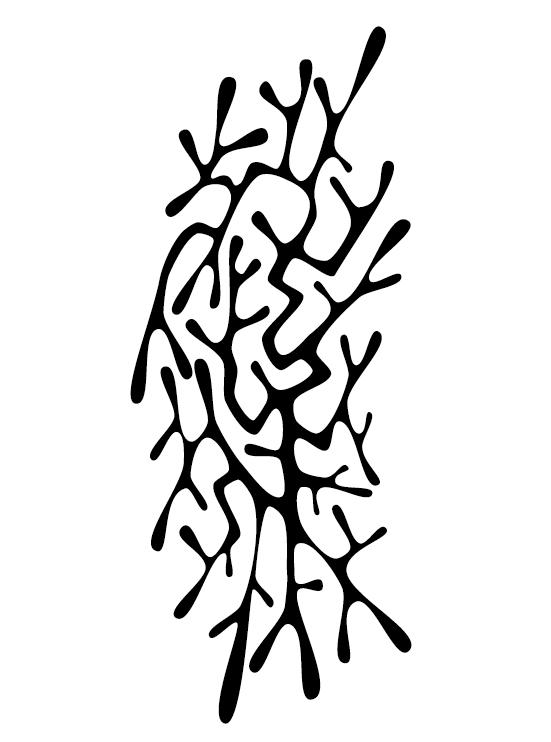 Creative tattoo ornament material vector 06