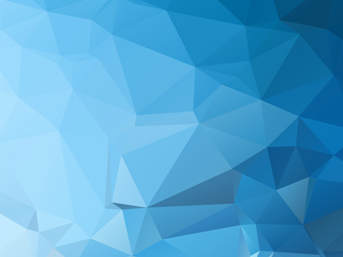 embossment triangular blue background vector 03 free download